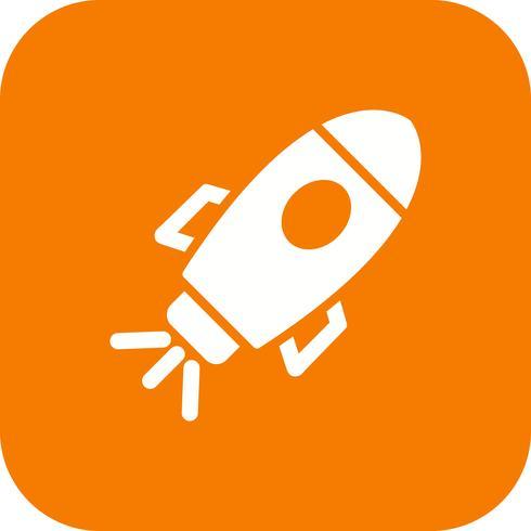 Space Ship Vector Icon