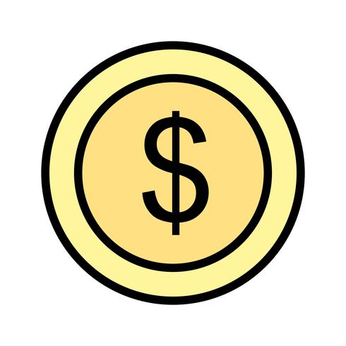 Vector Dollars pictogram