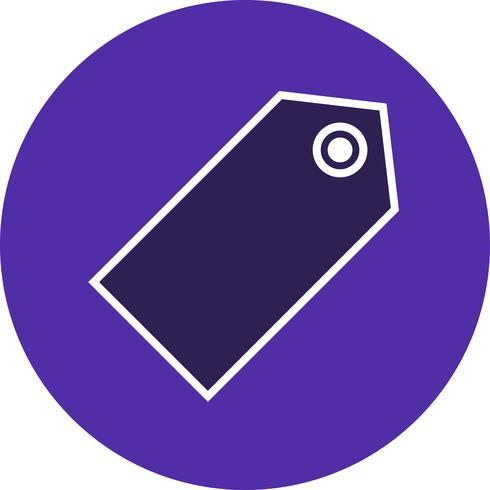 Vector icono de etiqueta