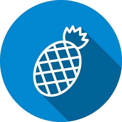 Vektor ananas ikon