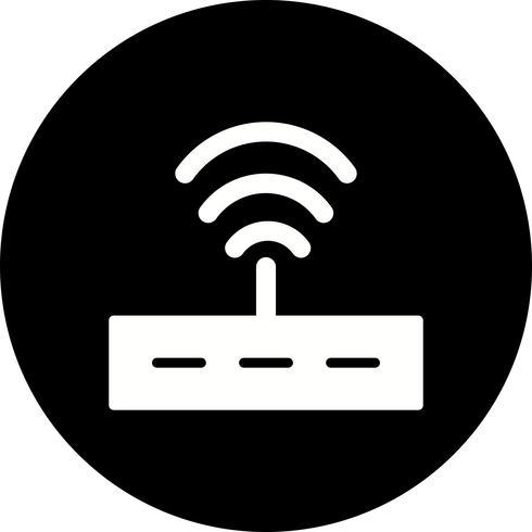 Vektor-Router-Symbol