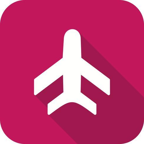 Vector icono de avión