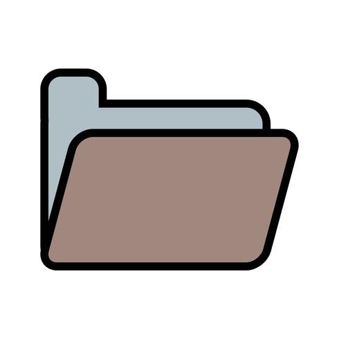 Vector icono de carpeta