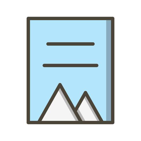 Ícone de documento de vetor