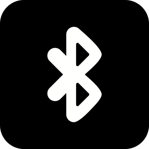 Bluetooth-Vektor-Symbol