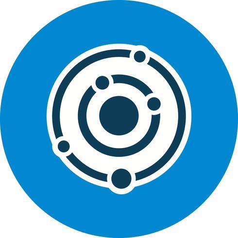 Zonnestelsel Vector Icon