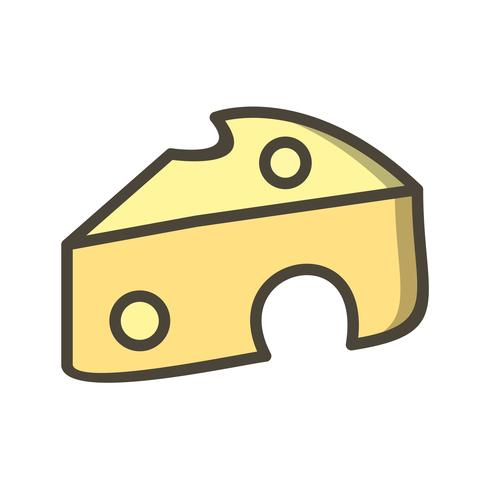Vector Cheese Icon