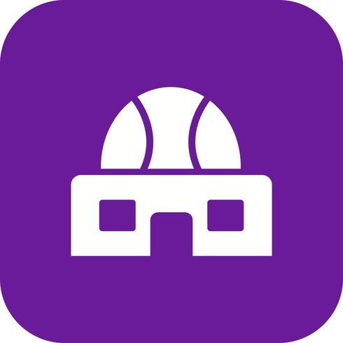 Sterrenwacht Vector Icon