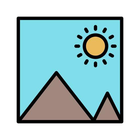 Icona immagine vettoriale