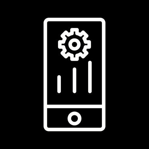 Vektor-Mobile-Marketing-Symbol vektor