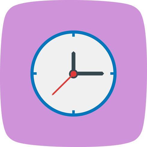 vektor klocka ikonen