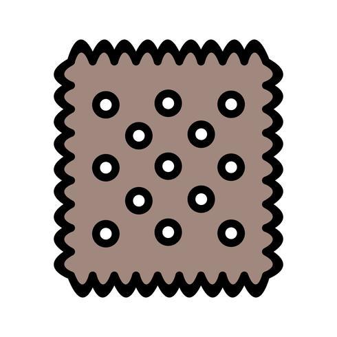 Vector icono de galleta