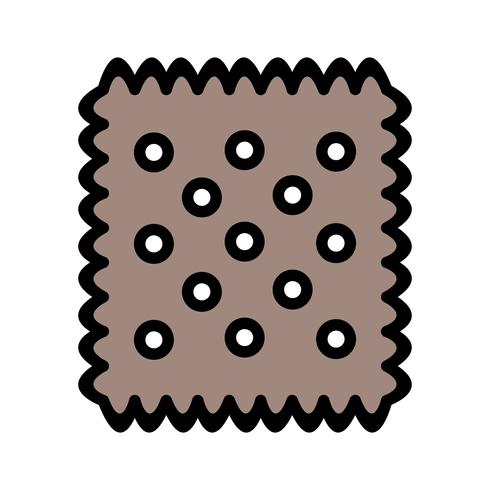 Vector koekje pictogram