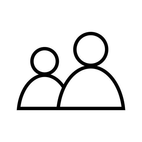 Vector gebruikers pictogram