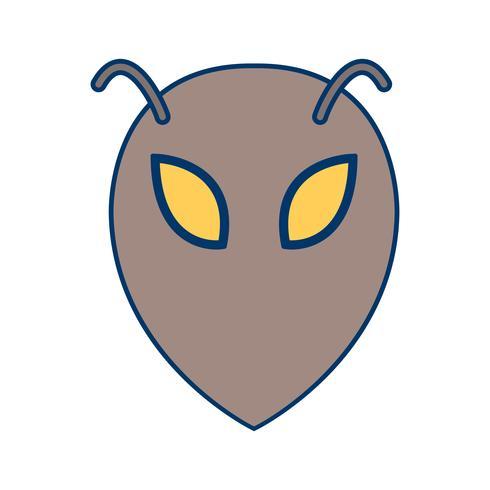 buitenaardse vector pictogram
