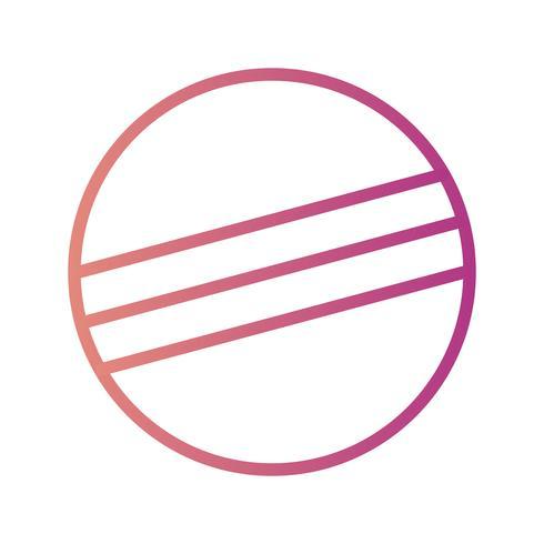 Icona di vettore di Eclipse