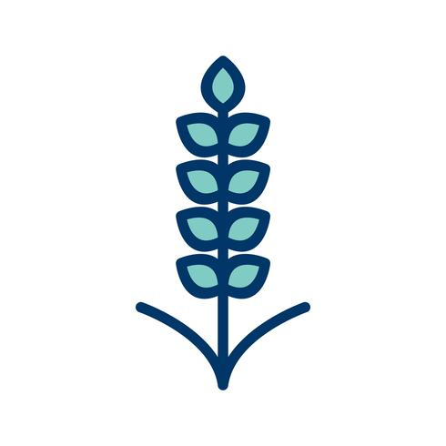 Vector icono de grano