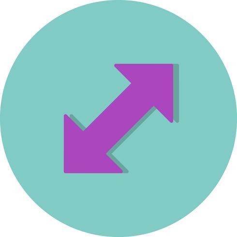 Dubbele pijl Vector Icon