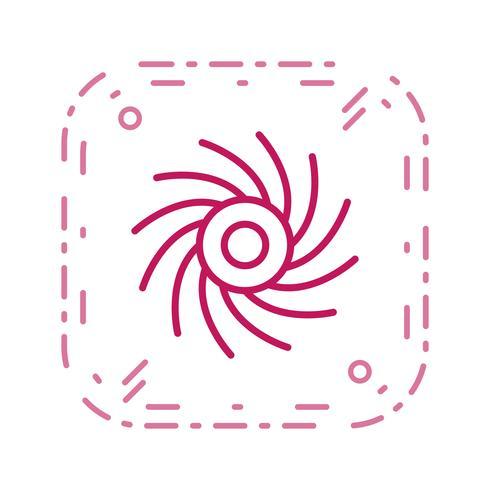 ikon för svart hål vektor