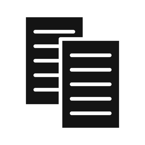 Icono de archivos vectoriales vector