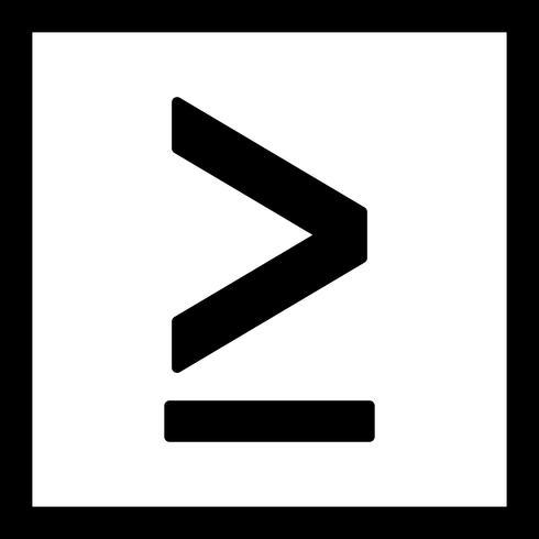 Meer dan vector pictogram