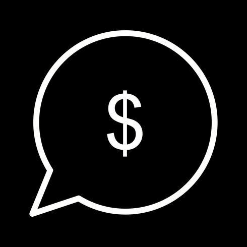 Vektor Skicka pengar Ikon