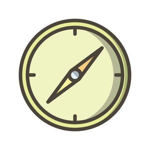 Kompass Vector Icon