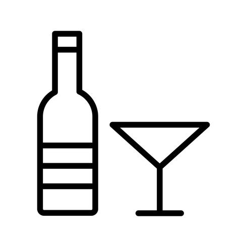 Vector Wine Icon