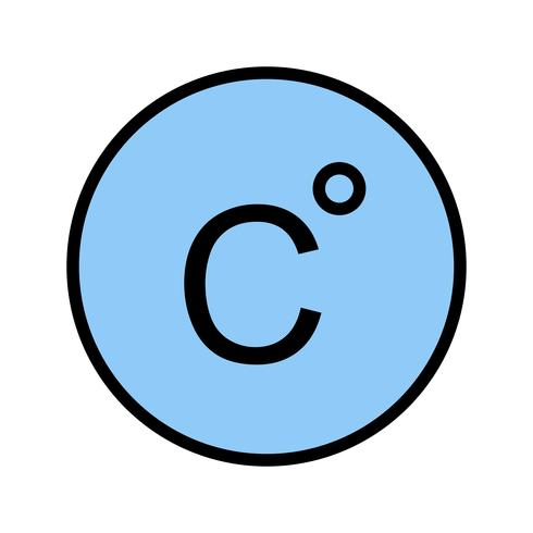 Celsius vector pictogram