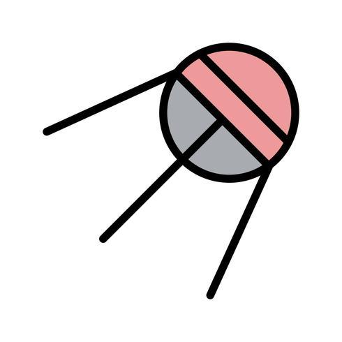 icona di vettore sputnik