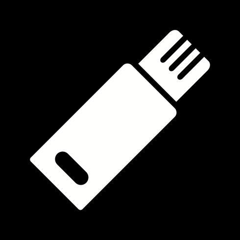 USB-Vektor-Symbol vektor