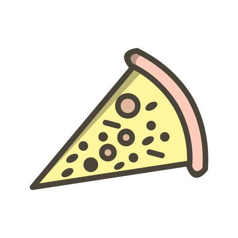 Icona della pizza vettoriale
