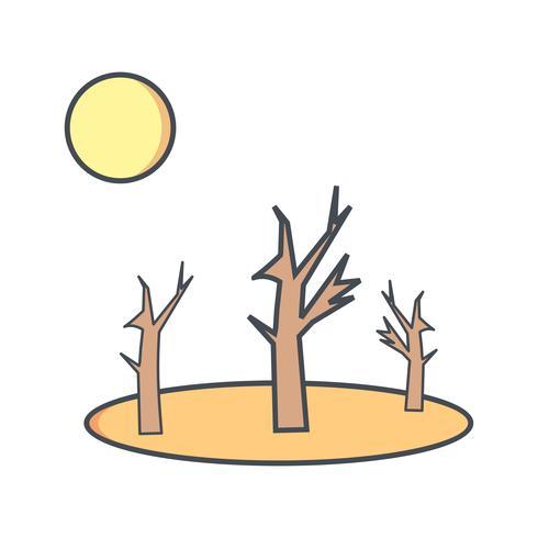 Droogte Vector Icon