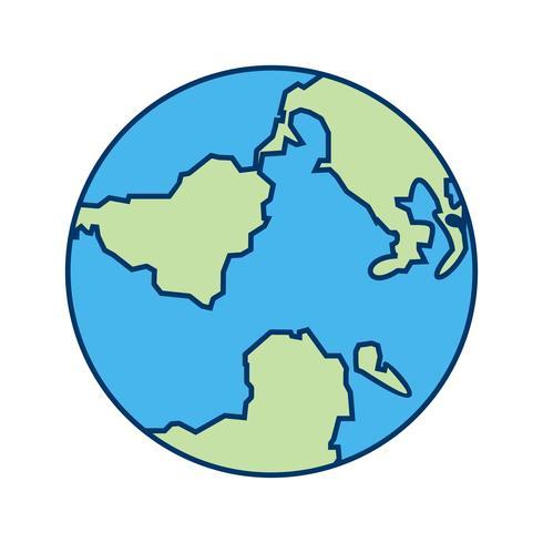 Icono de vector de globo
