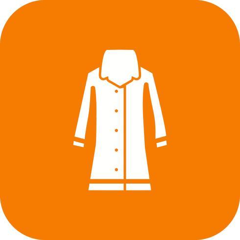 Rain Coat Vector Icon