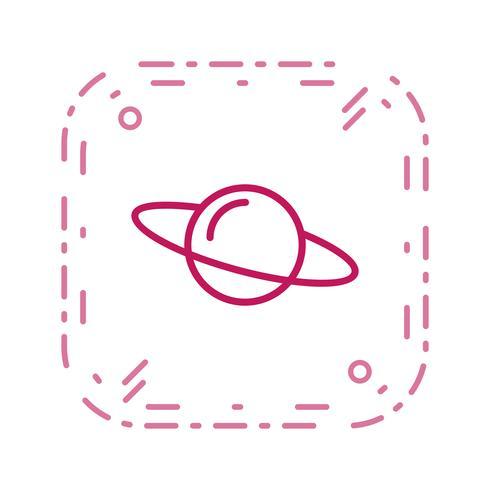 Satrun-Vektor-Symbol vektor