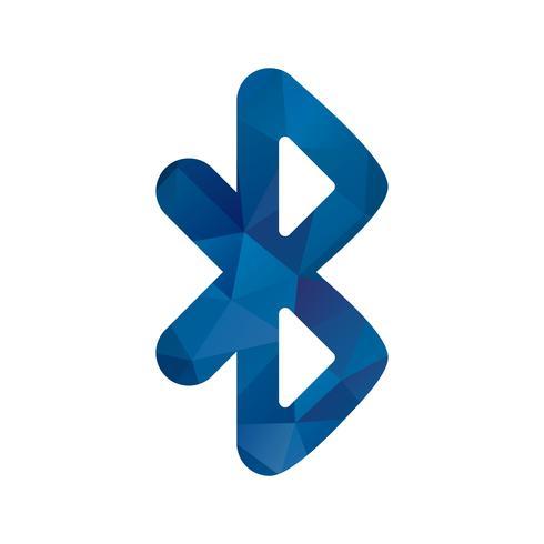 Icône de vecteur Bluetooth