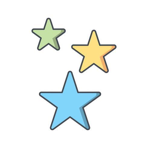 Stjärnor Vektor Ikon