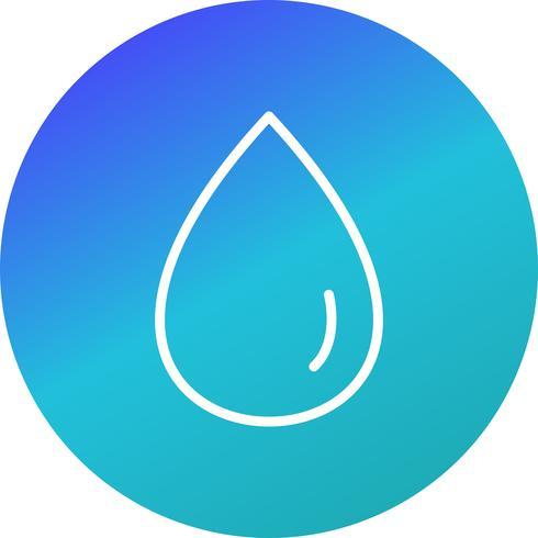 Regen Tropfen Vektor Icon