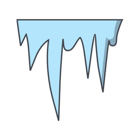 icicle vektor ikon