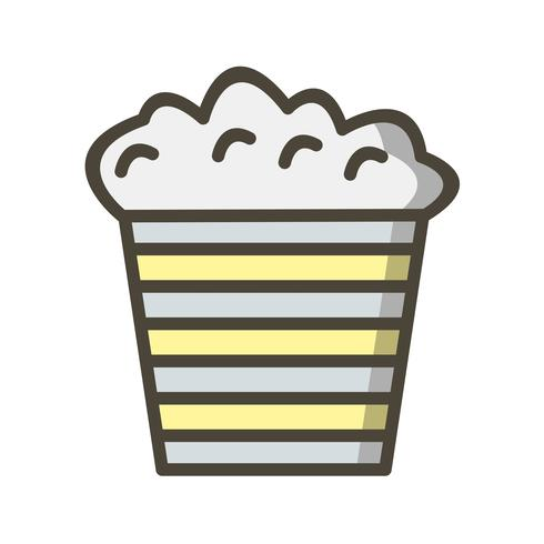 Vector Popcorn pictogram