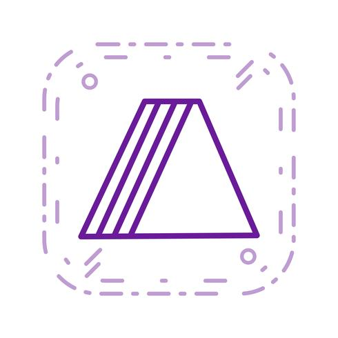 vektor sandwich ikon