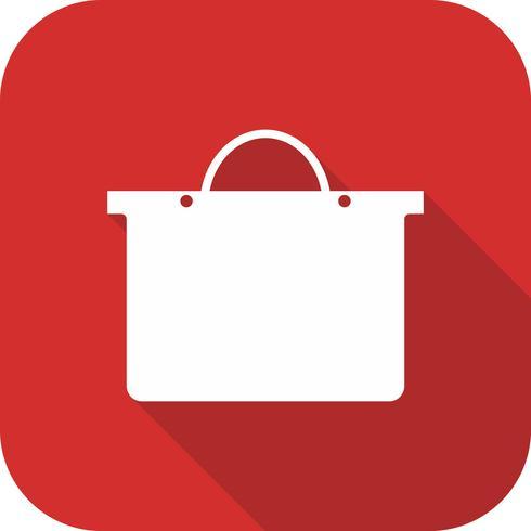 Vektor-Einkaufstasche-Symbol vektor