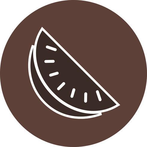 Icona di anguria vettoriale