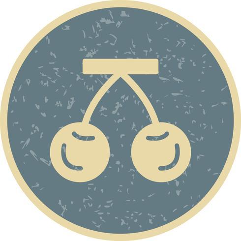 vektor körsbärsymbol