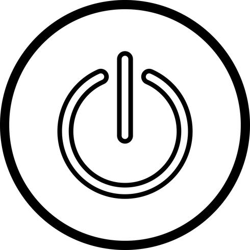 Icône de vecteur d'arrêt