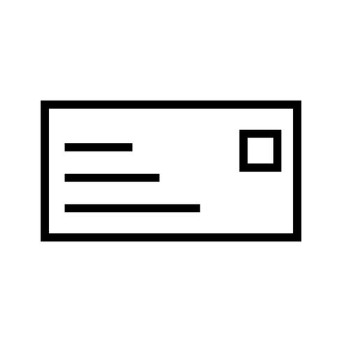 Vector ID Card Icon