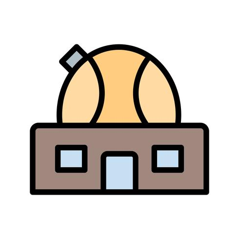Observatory Vector Icon