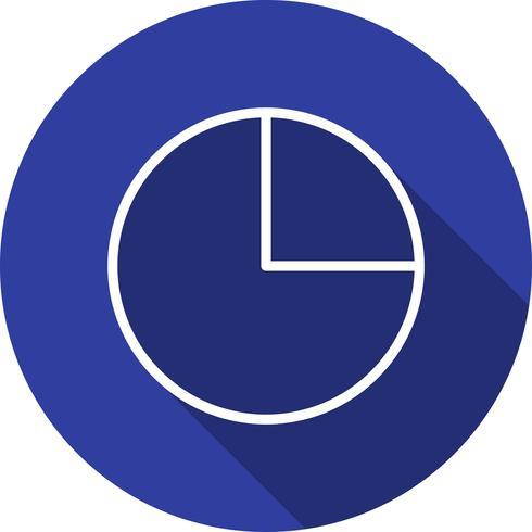 Vektor-Kreisdiagramm-Symbol