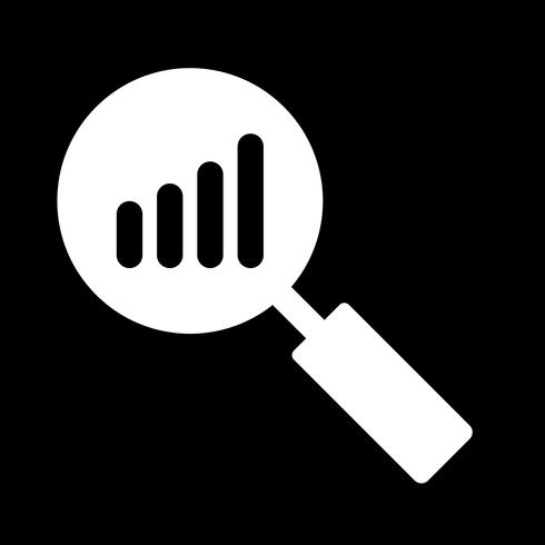 Vector analyse pictogram